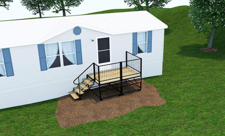 2 modular deck