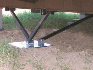 1100 V All Steel Foundation System