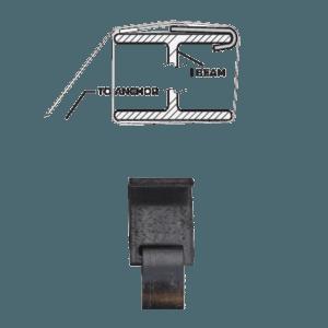 j-hook frame tie