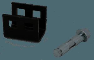 Patio Concrete Dry Set Head And Bolt PN OT CAD