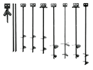 manufactured housing earth auger anchor
