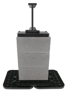 multi pad config with block