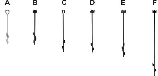 barbed anchors multi-purpose