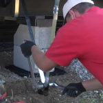 mobile home foundation systems pads